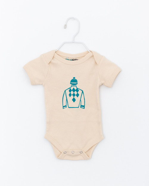 Jockey Silks Short Sleeve Onesie
