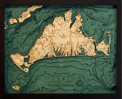 Martha's Vineyard Wood Chart