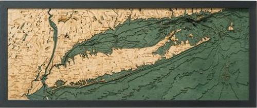 Long Island Sound Wood Chart