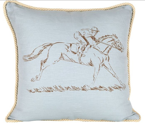 Racehorse Pillow
