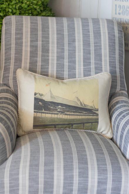 Saratoga Racetrack Lumbar Pillow