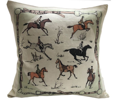 Equestrian Medley Pillow