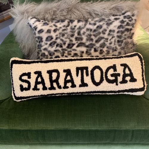 Saratoga Hooked Pillow