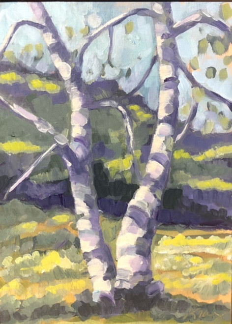 Twin Birches