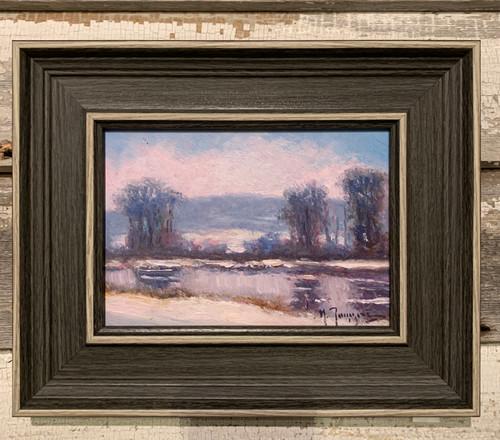 Winter River by Mark Tougias