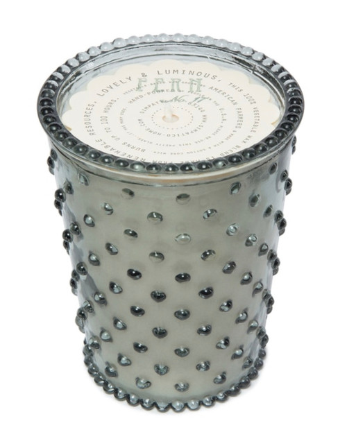 Fern Hobnail Candle