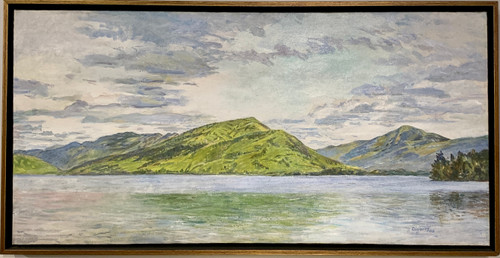 Spring Morning, Bolton Landing (Lake George) by Anne Diggory