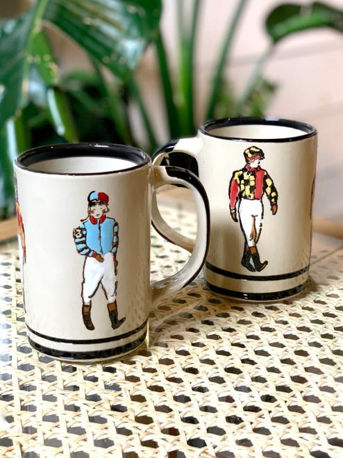 Stoneware Jockey Mug