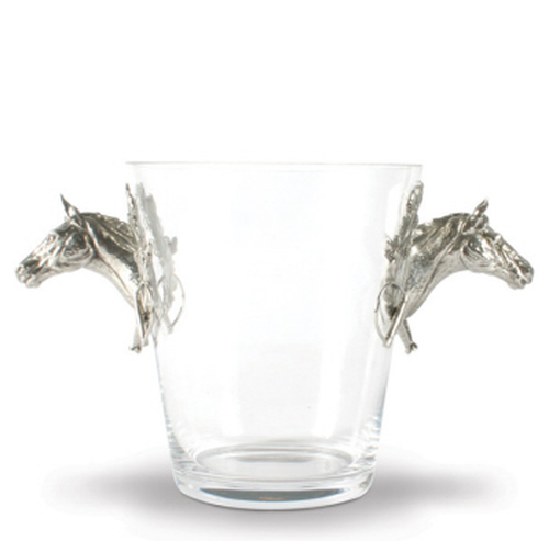 Thoroughbred Horse Head Ice Bucket