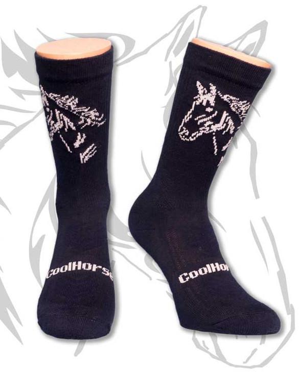 Cosy Cotton Riding Sock