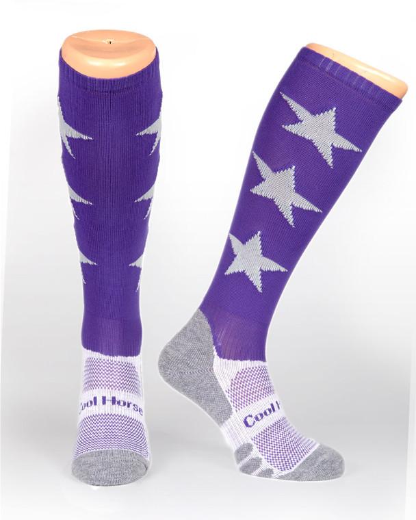 Starry Night  | Horse riding socks