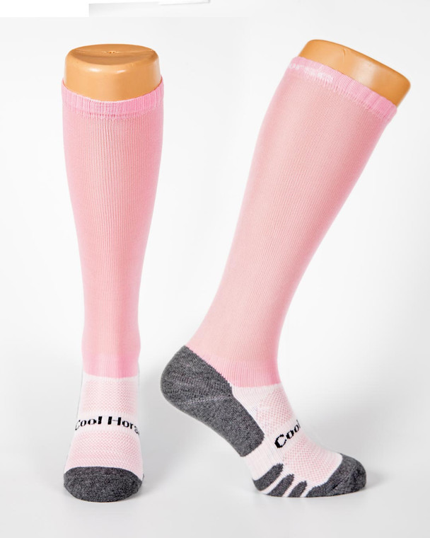 Rose Cool horse socks competition riding socks