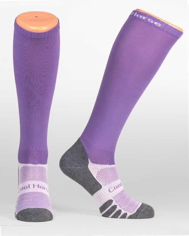 Lavender | Competition Sock Cool Horse Socks