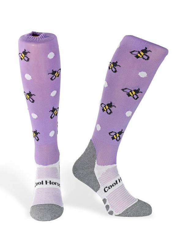 Children Busy Bee's Purple socks
