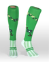 Coolhorsesocks Horse riding sock | flower socks | Green