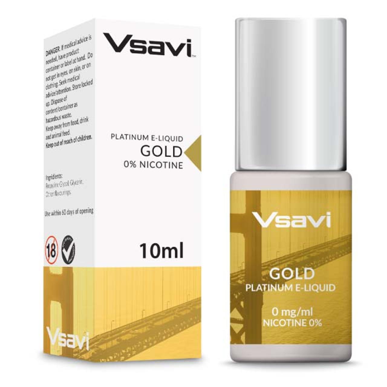 Gold Tobacco E-Liquid