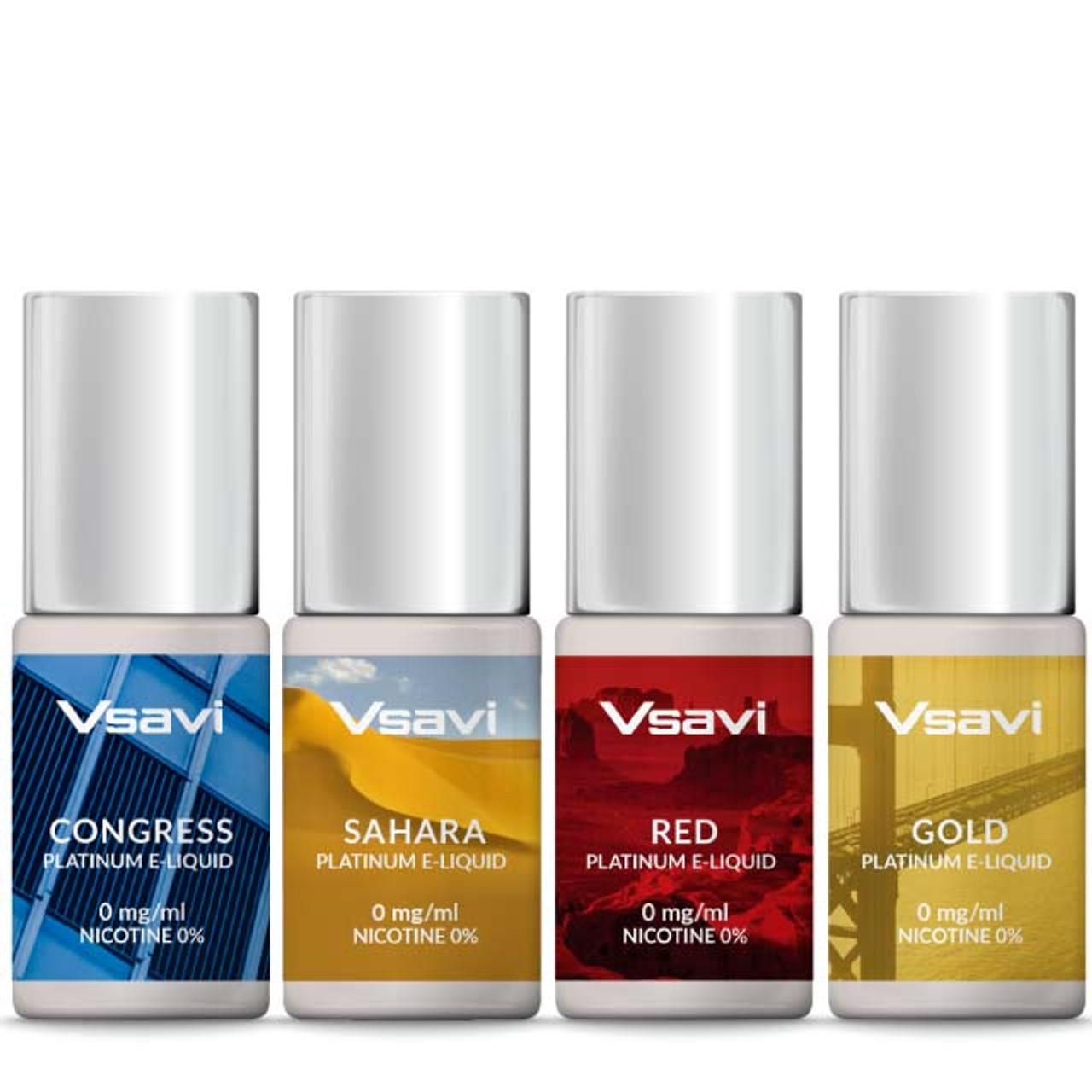 VSAVI Platinum E-Liquid Tobacco Sample Pack