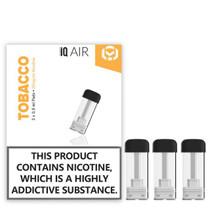 iQ Air Nicotine salt pods Tobacco flavour