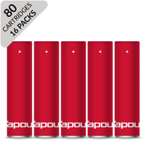 Vapour2 Classic Cartridges x 80 V2 Red