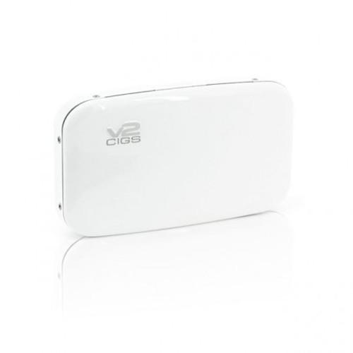 V2 Cigs White E-Cigarette Carry Case