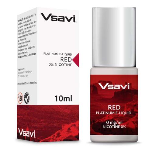 V2 Platinum 10ml e liquid red Tobacco