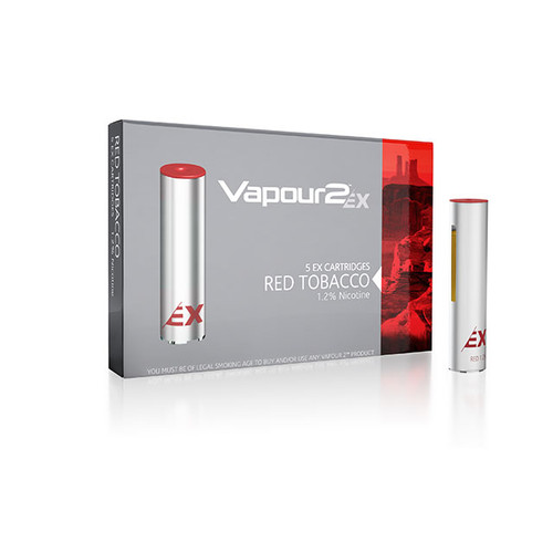 SALE - Vapour2 EX Series Cartridges 0.0% x 5