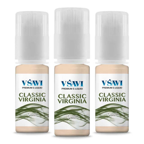 VSAVI 100% VG e-liquid classic virginia 30ml