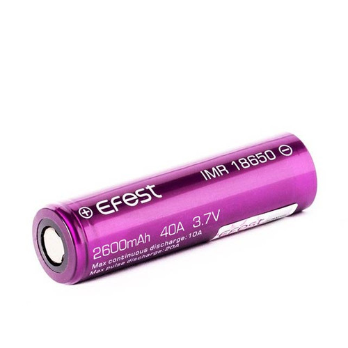 EFEST 18650 Battery 2600mah 40A