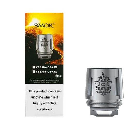 Smok TFV8 Baby Beast Coils (5-Pack)