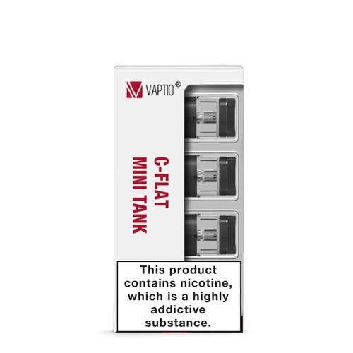 Vaptio C-Flat Mini Refillable Pods 4-Pack