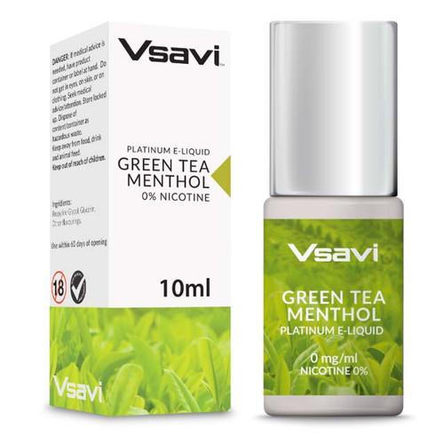 Green Tea Menthol V2 Platinum E-liquid
