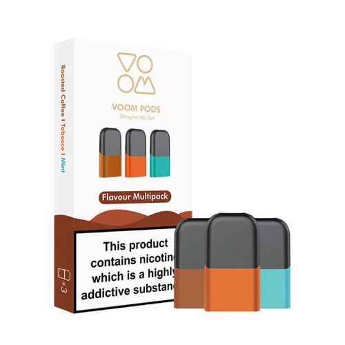 Voom Standard Multipack Nic-Salt Pods