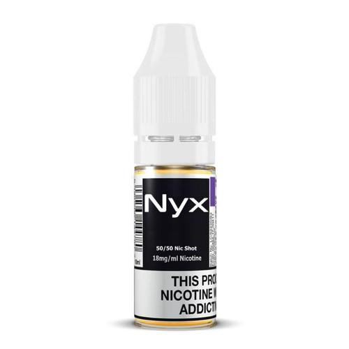 Nyx 50/50 Nicotine Shot 18mg 10ml