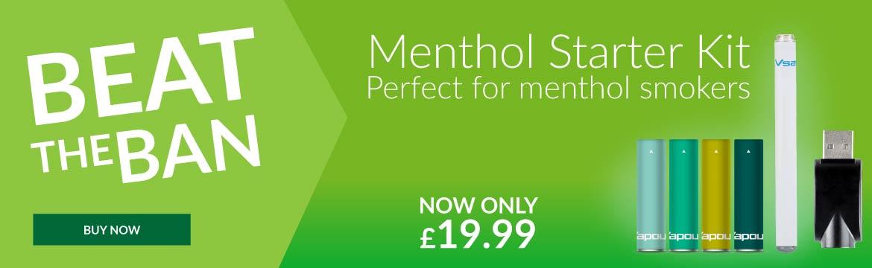 V2 Cigs UK Menthol Starter Pack