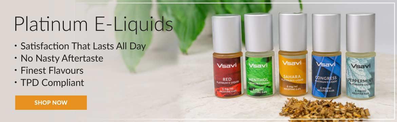 V2 Vapour2 Platinum E-Liquids