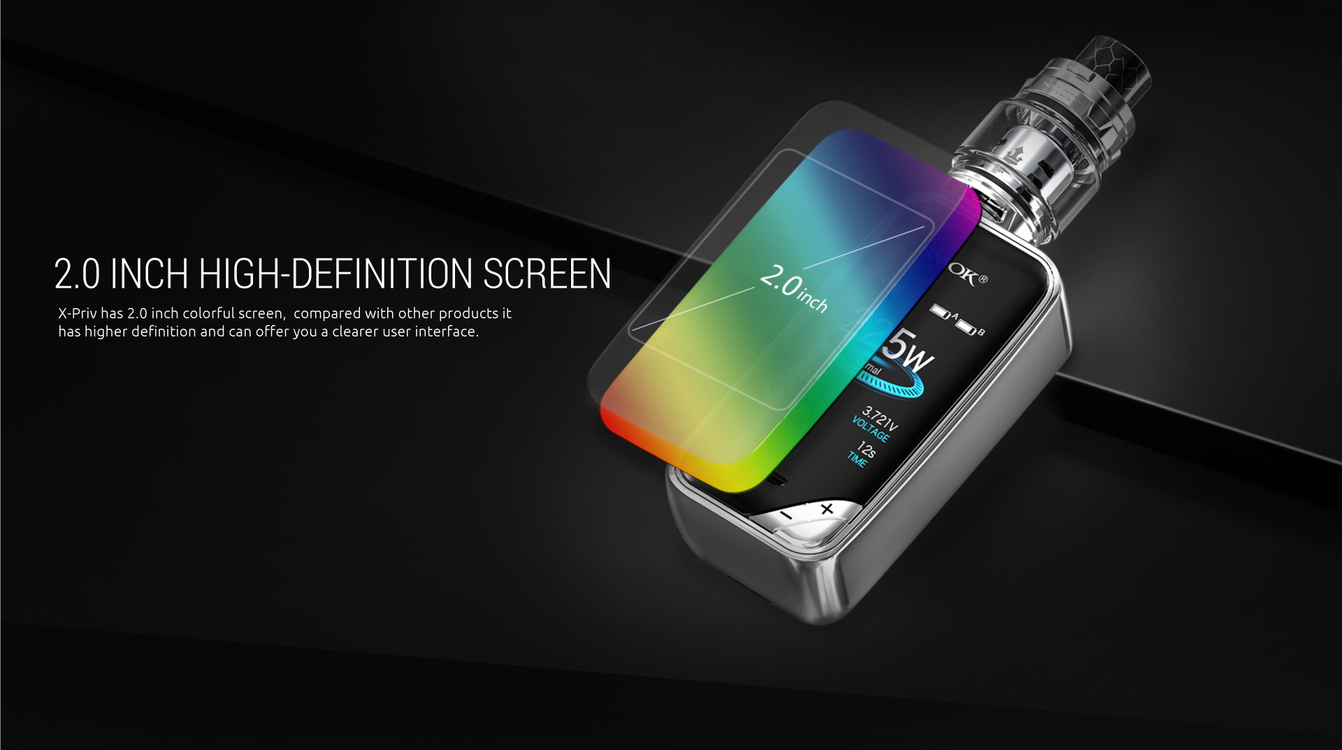 Smok X-Priv High Definition Screen