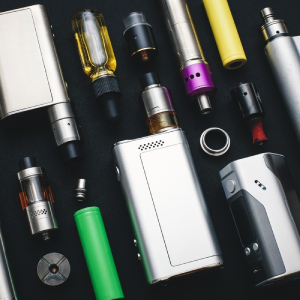 A selection of different vape mods