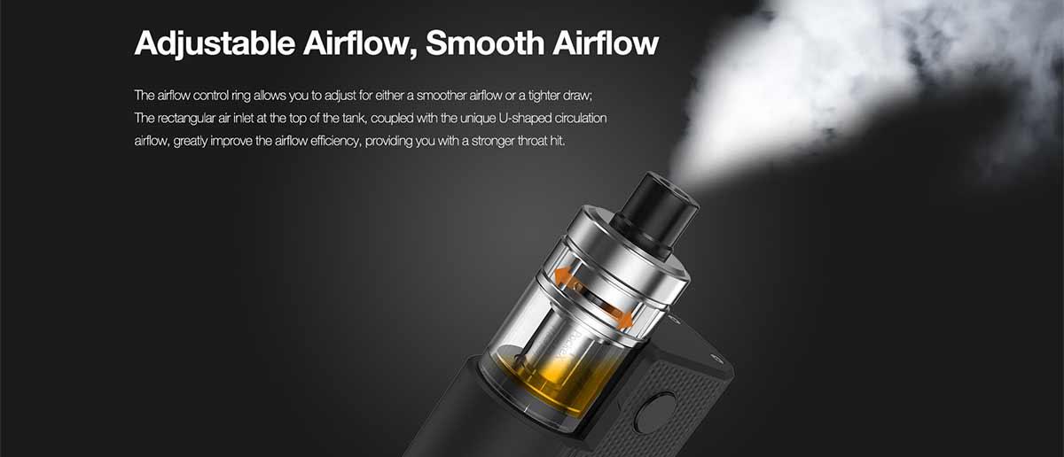 aspire pockex box airflow