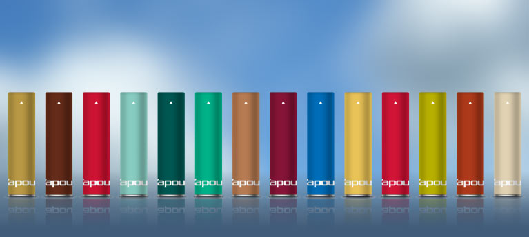 Prefilled flavour cartridges for V2 Cigs Classic or Ex-Series Battery
