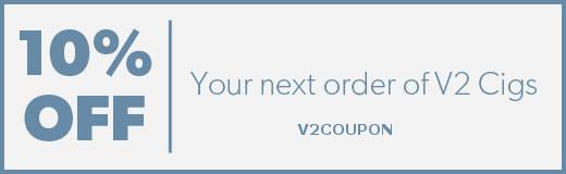 V2 coupon codes save 10%
