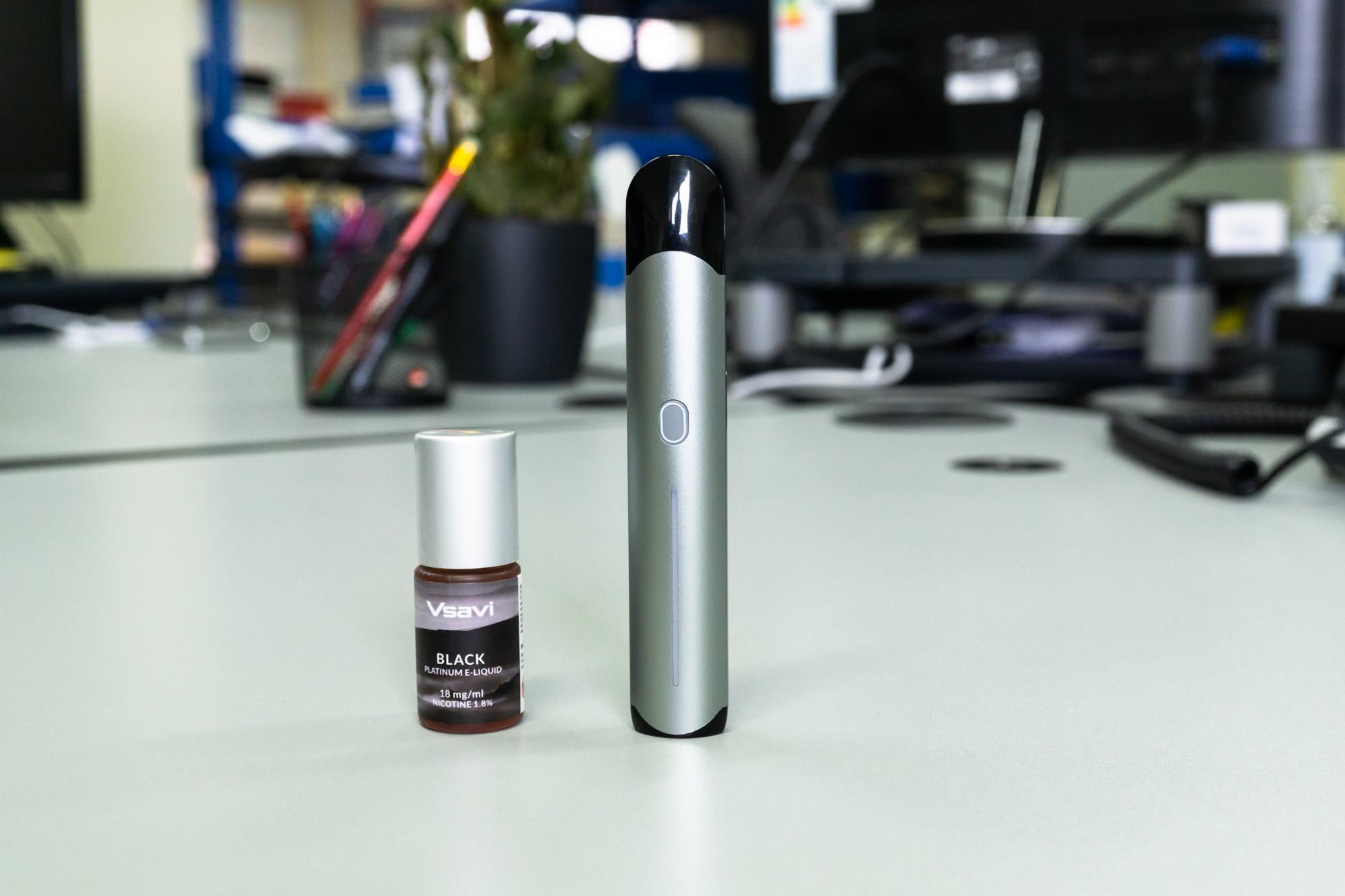 Hangsen iQ Touch and Platinum E-Liquid