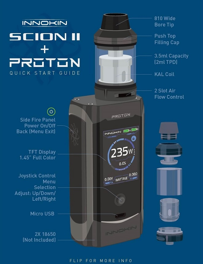 Innokin proton quick start user guide