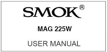 smok mag user manual