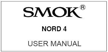smok nord 4 user manual