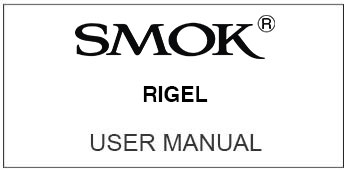 smok rigel user manual