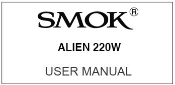 smok alien user manual