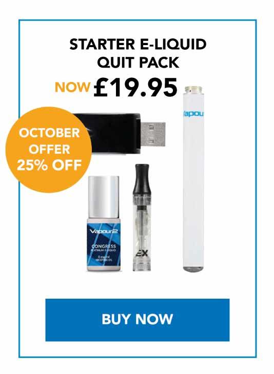 starter e-liquid quit pack