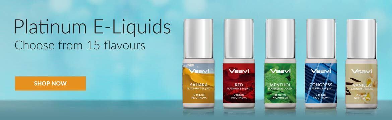 Vsavi Platinum e-liquids