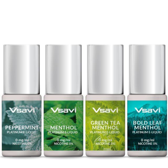 Vapour2 menthol flavoured e-liquids