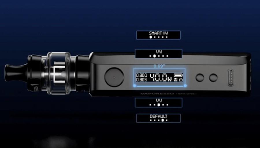 Vaporesso GTX One power modes